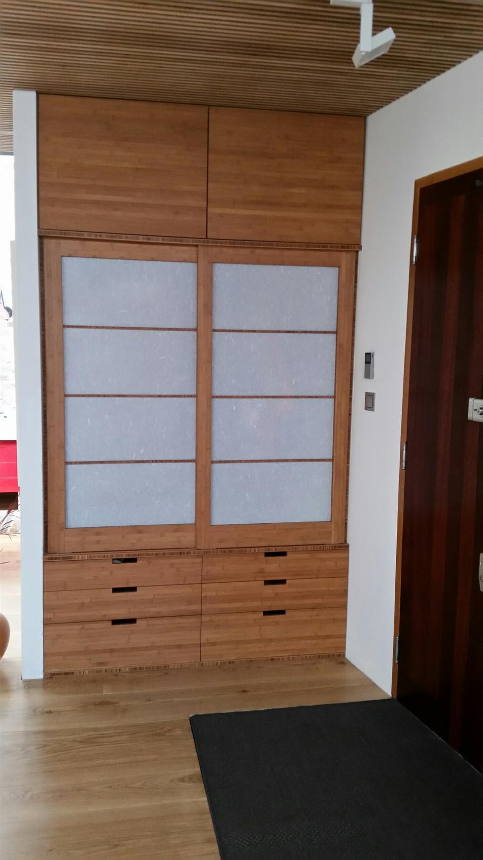 BambooEntranceCupboard della-Porta design