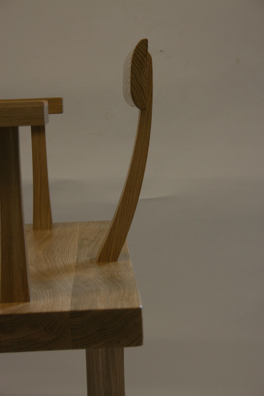 Japanese Inspired Oak Arm Chair della-Porta design