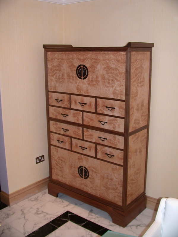 Japanese Dining Room Cabinets della-Porta design
