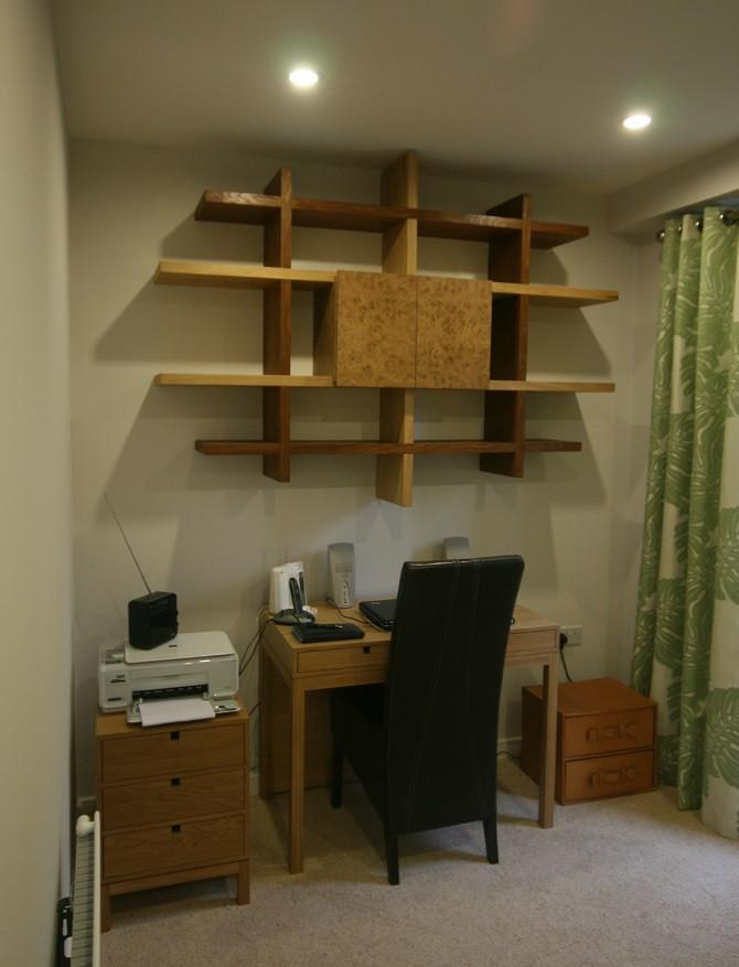 Three OakWall Cabinet della-Porta design