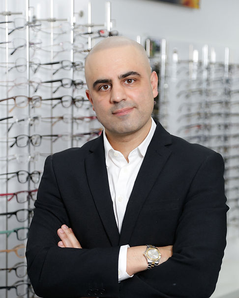 Pervaze Jan our head Optometrist