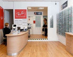 Interior photograph of our stapleton road store