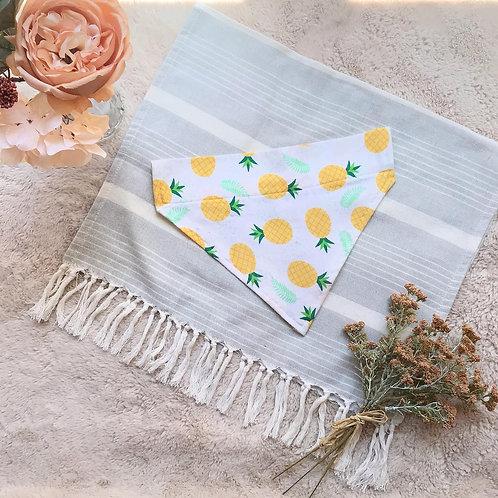 Pineapples // Over the Collar Bandana