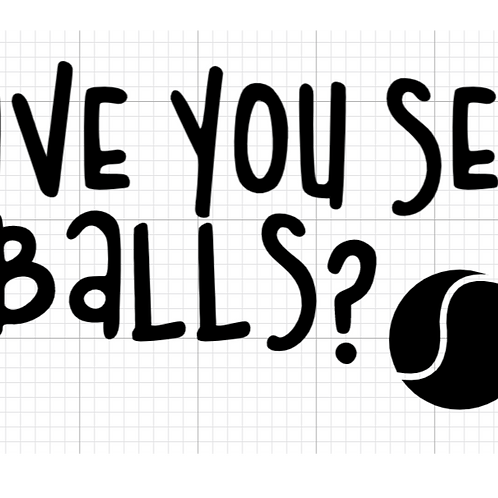 Have You Seen My Balls? // Vinyl Add-On