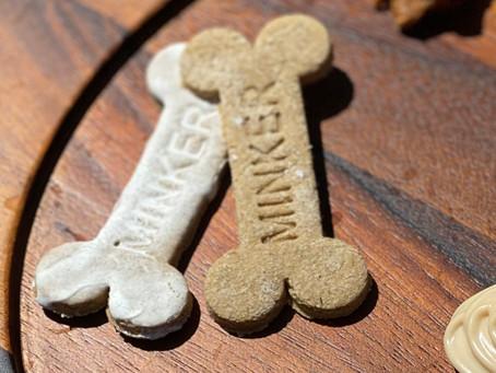 Minker's PB&B&B Biscuits