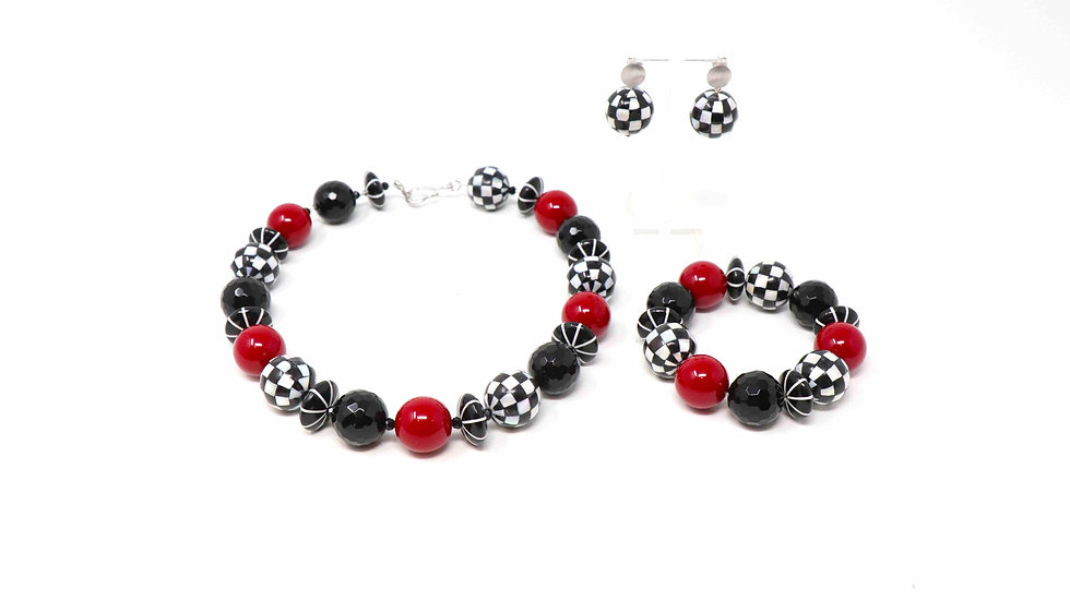 Set Necklace Unique Collection