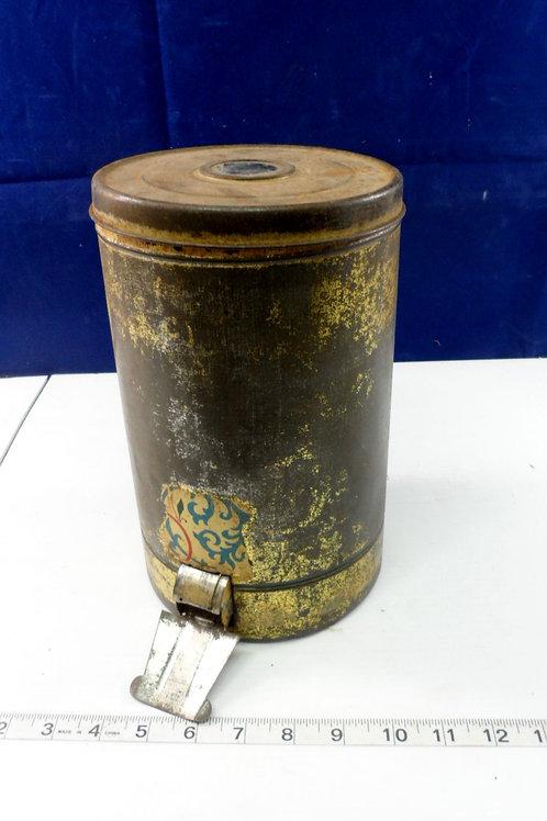 Tin Peanut Container