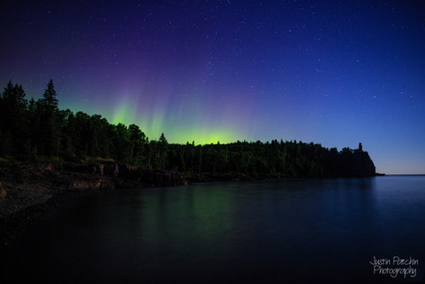 Split Rock Northern Lights