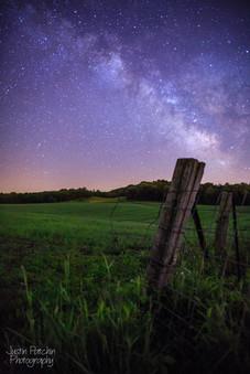Fence Post Milky Way