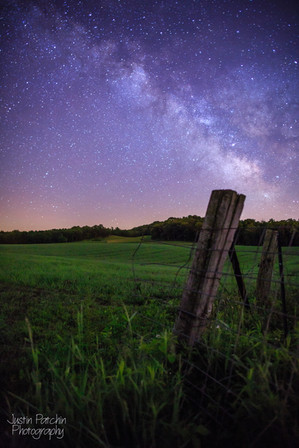 Fence Post Milky Way