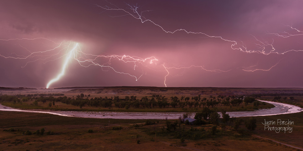 White River Lightning