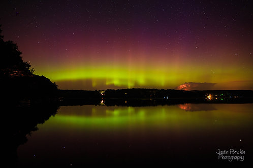 Lake Eau Claire August Aurora