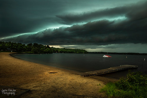 Lake Altoona Beach Storm Front