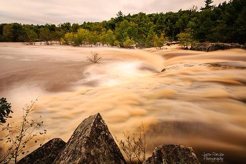 Big Falls Fall Flood