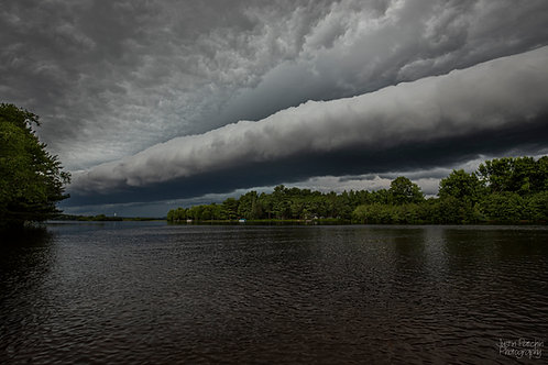 Eau Claire River Shelf Cloud