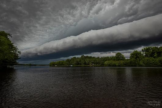 Eau Claire River Shelf Cloud