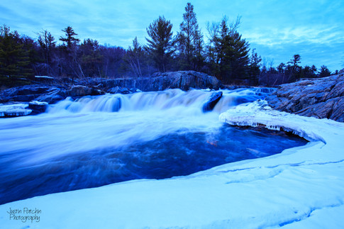 Big Falls Winter