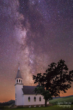Bruce Valley Church Milky Way