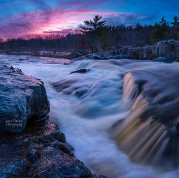 Big Falls Spring Pink Sunset