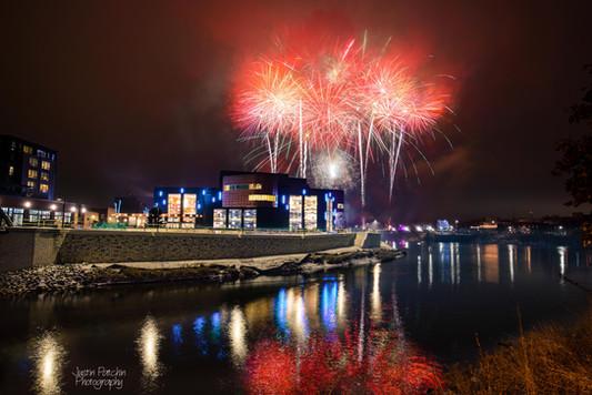 Pablo Winter Fireworks
