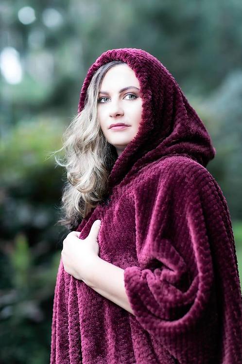 CS1U polar fleece cape