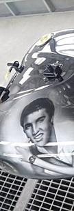 Elvis Presley petrol tank