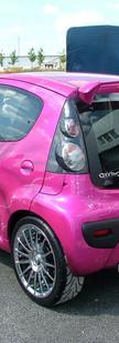 Citroen C1 Pink by Darren Horton