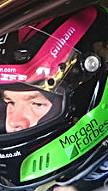 Tony Gilham helmet