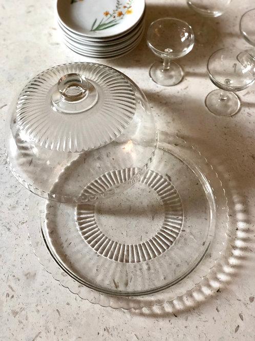 Tårtkupa i glas