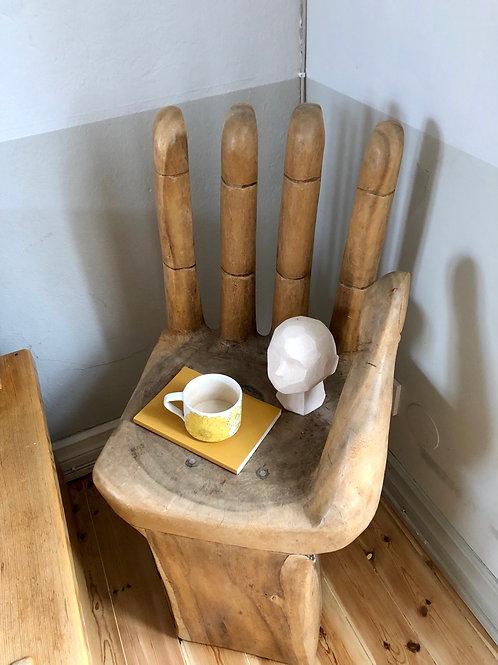 Handformat sidobord/ stol