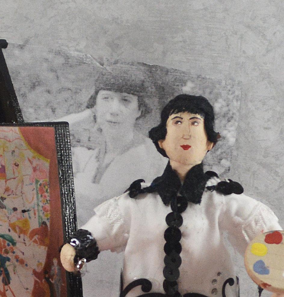 Florine Stettheimer Famous Artist Collectible Figure Diorama Miniature |  website