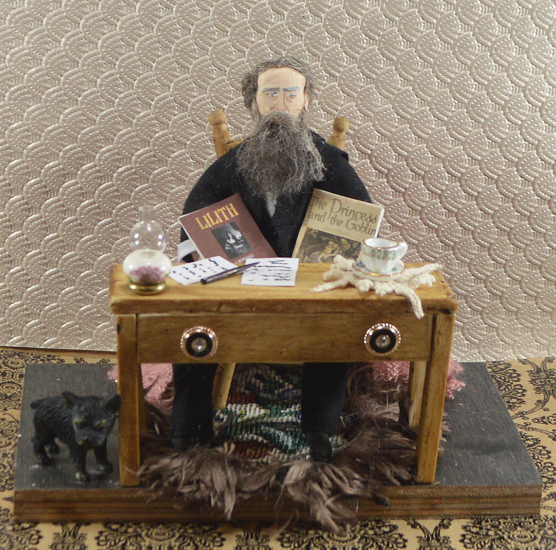 George Macdonald Literary Diorama Scene Miniature Figure | website