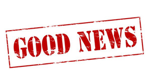 Goed nieuws :-)