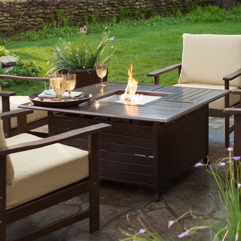 Propane Outdoor Fire Pit Table
