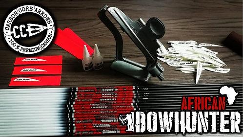African Bowhunter Arrow