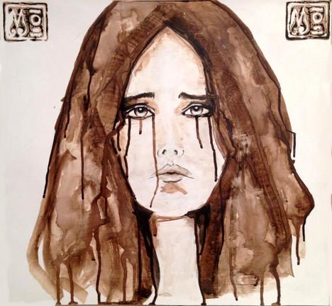 Jeune Femme Triste