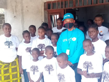 Visite de L'UNICEF Congo