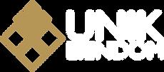 Unik Eiendom Logo Hvit Gull.png