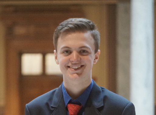 Meet the 2020 Officers - Luke Diehl
