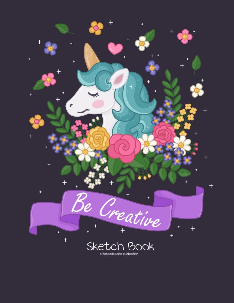 Unicorn Sketch Book