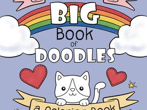 Beckadoodles Coloring Book!