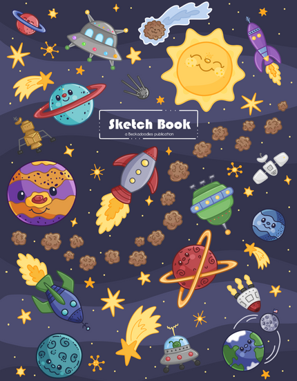 Space Sketch Book