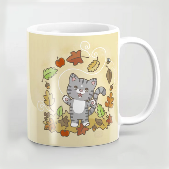 Happy Fall Cat