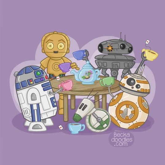 Droid Tea Party