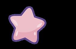 pink star cartoon