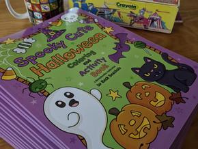Restocked Halloween Coloring Books!