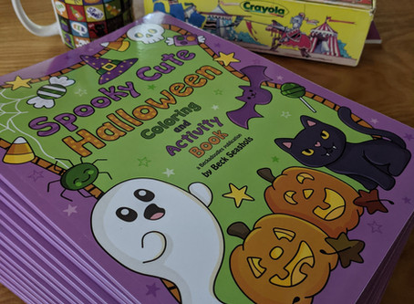 Restocked Halloween Coloring Books!