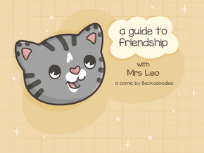 A Guide to Friendship: a comic