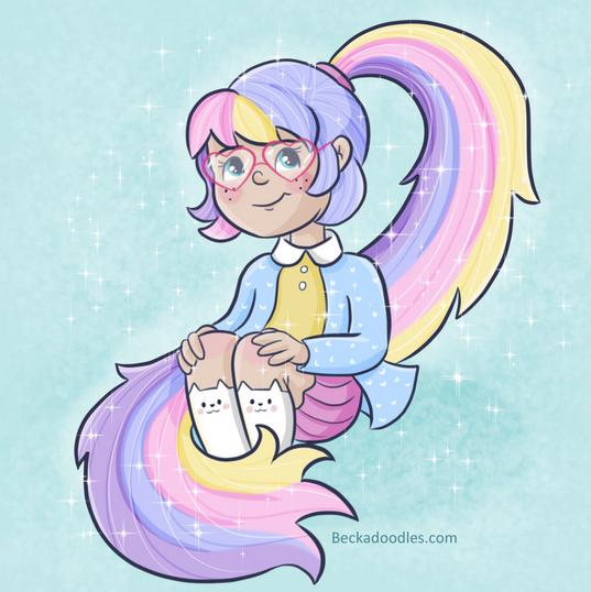 Rainbow Girl dtiys