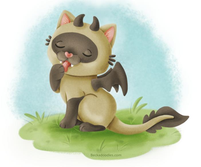 Siamese Dragon Cat